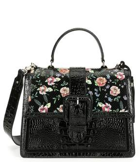 Brahmin Thames Collection Floral Print Medium Francine Satchel
