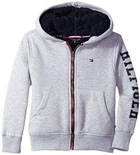 Tommy Hilfiger Sherpa Lining Full Zip Hoodie Boy's Sweatshirt
