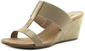 Style&Co. Style & Co Vern Open Toe Synthetic Wedge Sandal.