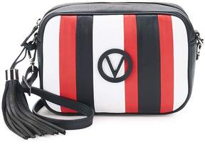Mario Valentino Valentino by Women's Mia Striped Leather Crossbody Bag