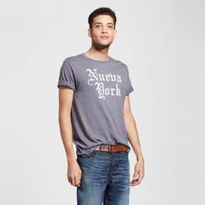Awake Men's New York Nueva York T-Shirt - Charcoal Gray