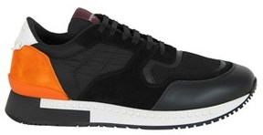 Givenchy Men's Black Leather Sneakers.