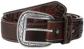 Ariat Tooled Tab Belt Men's Belts