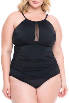 Boutique + + Tankini Swimsuit Top-Plus