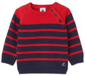Petit Bateau Baby boy's knitted pullover