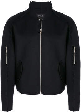 Yang Li slim-fit zipped jacket