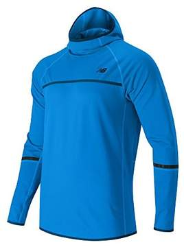 New Balance Men's Heat Pullover Hoodie, Bolt, Small