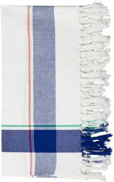 Bobo Choses Blue and White Check Scarf