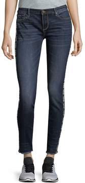 Driftwood Women's Marilyn Frayed Skinny Jeans