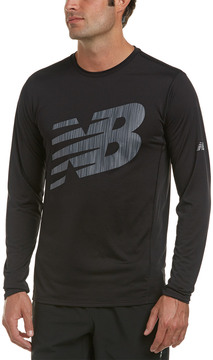 New Balance Accelerate Graphic Top
