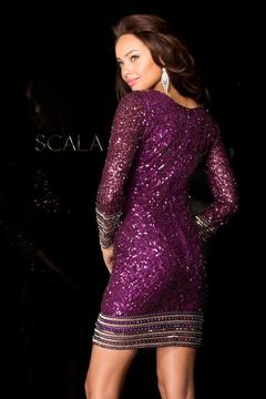 SCALA - 48356 Dress In Wine
