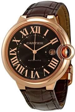 Cartier Ballon Bleu de Automatic Brown Dial Men's Watch