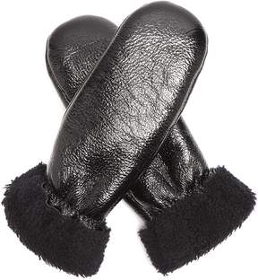 Yves Salomon Shearling-lined mittens