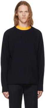 Nonnative Navy Wool Clerk Sweater