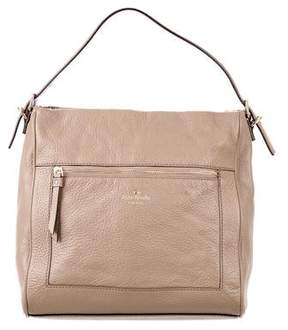Kate Spade Leather Satchel Bag - NEUTRALS - STYLE