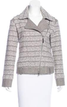 Bruno Manetti Knit Fitted Jacket