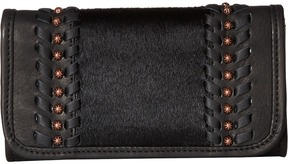 American West - Cow Town Trifold Wallet Wallet Handbags