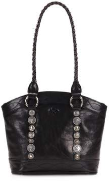 Patricia Nash Vintage Studded Hardware Collection Zorita Tasseled Tote