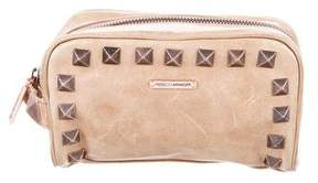 Rebecca Minkoff Studded Zip Pouch - BROWN - STYLE