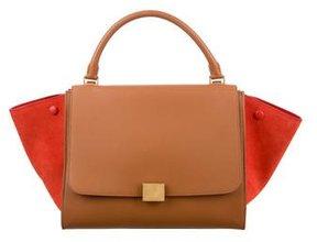 Céline Bicolor Trapeze Bag