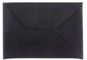 Hermes Chevre Mysore Envelope Document Pouch - BLACK - STYLE