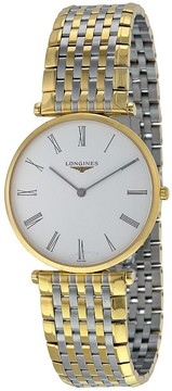 Longines La Grande Classique White Dial Two-tone Men's Watch L47552117