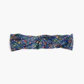 Soft twist headband in Liberty® Catesby floral