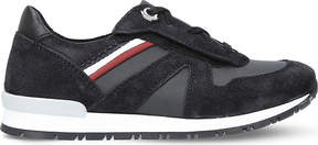 Moncler Fabien suede trainers 6-9 years