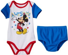 Disney Disney's Mickey Mouse Baby Boy 2-pk. Bodysuits