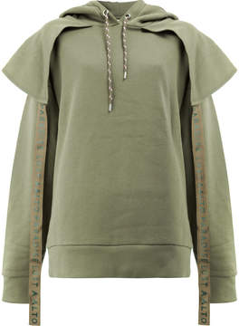 Aalto hoodie with panels and straps