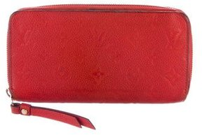 Louis Vuitton Empreinte Zippy Wallet - RED - STYLE