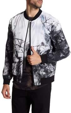 Religion Inertia Printed Bomber Jacket