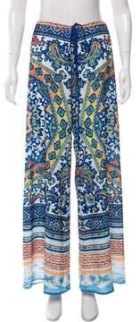 Clover Canyon Ornate Printed Wide-Leg Pants