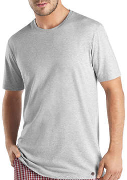 Hanro Night & Day Short-Sleeve T-Shirt, Silver Melange