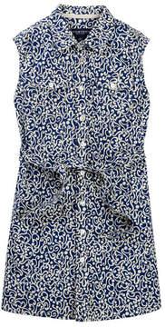 Toobydoo Jesse Printed Sleeveless Belted Shirtdress (Toddler, Little Girls, & Big Girls)