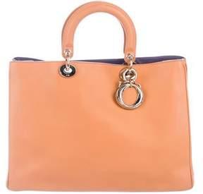 Christian Dior Large Leather Diorissimo Bag