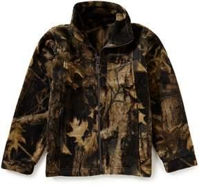 Columbia Big Boys 8-20 Zing III Camouflage Printed Fleece Jacket