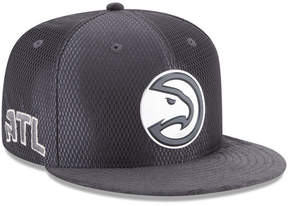 New Era Atlanta Hawks On-Court Graphite Collection 9FIFTY Snapback Cap