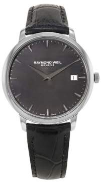 Raymond Weil Toccata 5588-STC-20001 Stainless Steel / Leather 42mm Quartz Mens Watch