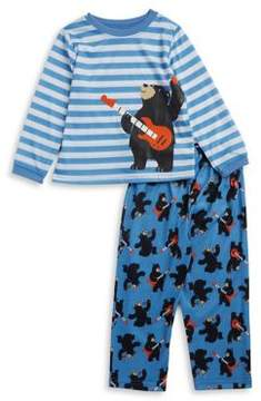 Little Me Little Boys Two-Piece Top & Pants Pajama Set