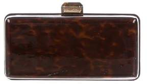 Oscar de la Renta Patent Leather Box Clutch