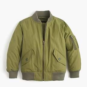 J.Crew Boys' bomber jacket