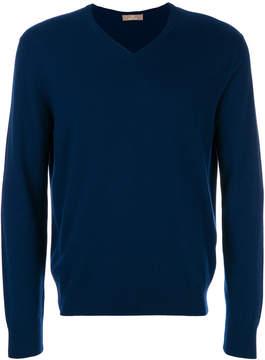 Cruciani classic V-neck sweater