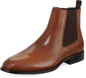 Karl Lagerfeld Paris Gored Leather Chelsea Boot