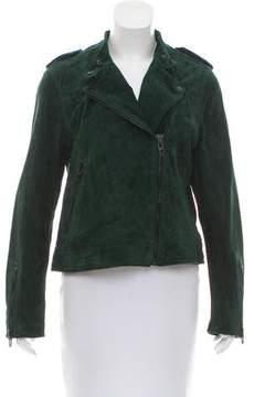 Blank NYC Asymmetrical Suede Jacket w/ Tags
