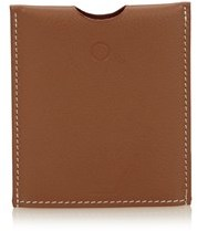 Hermes Pre-owned: Leather Pocket Flashlight Cover. - BROWN - STYLE