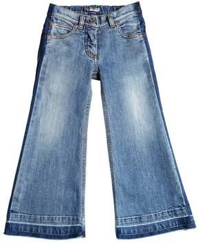 Ermanno Scervino Flared Stretch Denim Jeans