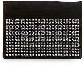 Giuseppe Zanotti Men's Nailhead Embellished Leather Card Holder