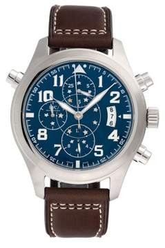 IWC Pilot IW371807 Stainless Steel & Blue Dial Automatic 44mm Mens Watch