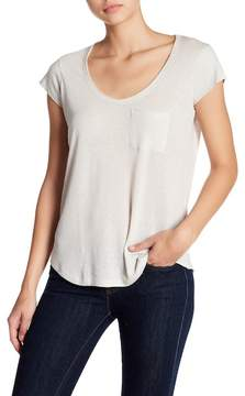 Brochu Walker Lane Linen-Blend Tee